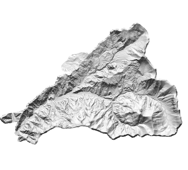 LiDAR bare earth grayscale