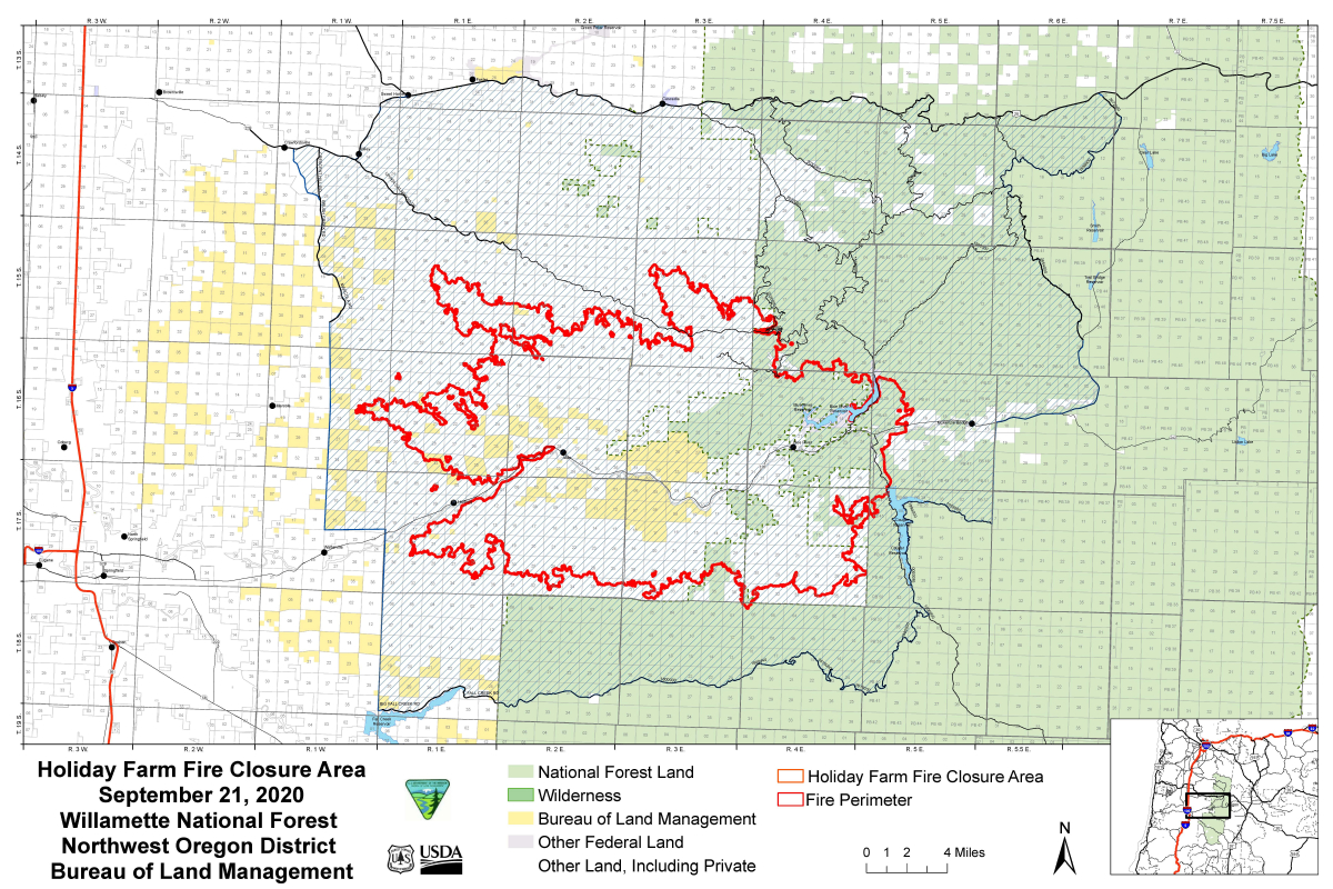 fire closure map WNF