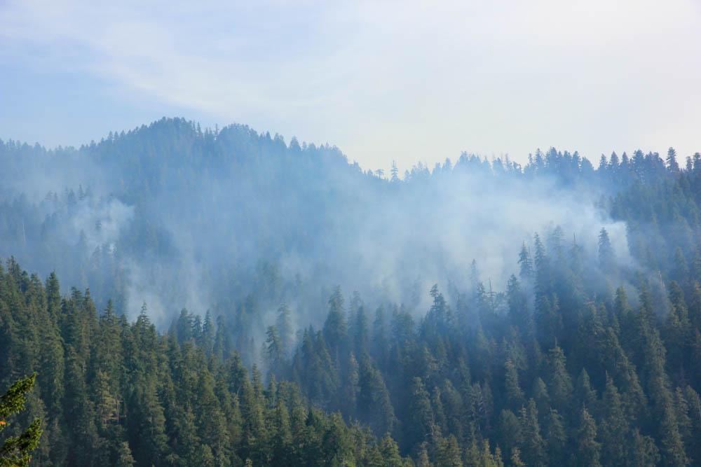 smoke above watershed 2